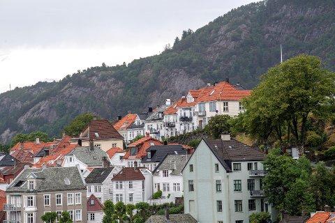 Boligprisene steg i Bergen i juli.