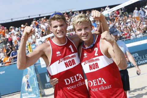 Anders Mol (t.v.) og Christian Sørum ser helt ustoppelige ut.