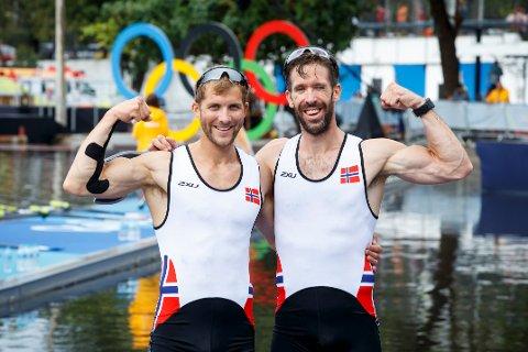 Kristoffer Brun og Are Strandli er klare for EM-finale i roing.