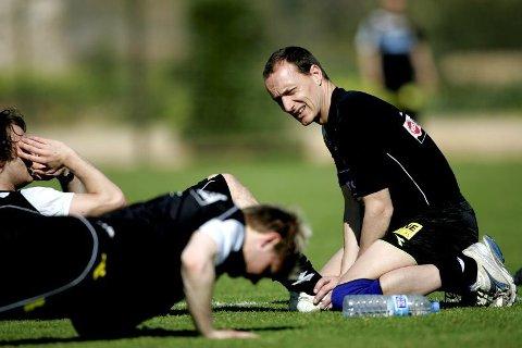 Erlend Slokvik jobbet i 2007-08 som fysisk trener for Lillestrøm. Her på La Manga i februar 2008.