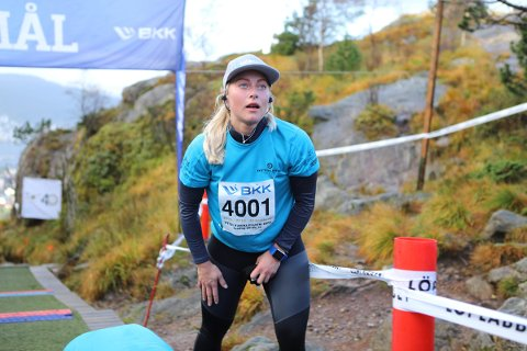 Ragnhild Mowinckel slo sin personlige rekord med ett sekund.