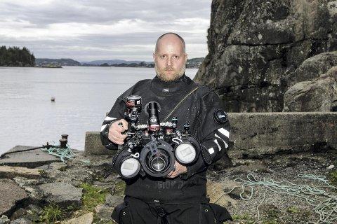 Bergenseren Bjørnar Nygård kopierte bragden fra i fjor da han nylig vant NM i undervannsfoto.