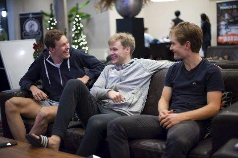 Sindre Henriksen, Håvard Lorentzen og Sverre Lunde Pedersen går for sine første EM-medaljer denne helgen.