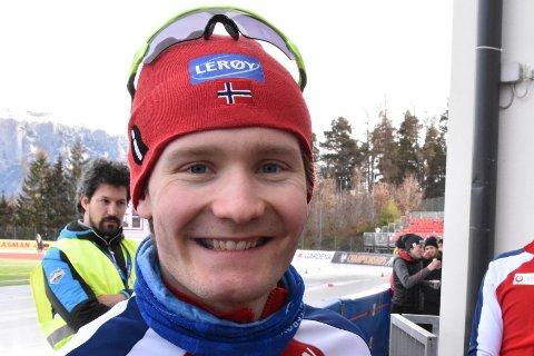 Sverre Lunde Pedersen perset på 500-åpningen i EM i Italia!