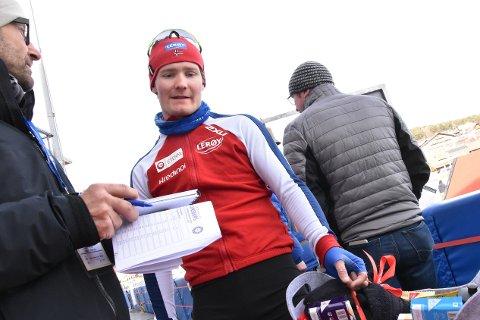 Sverre Lunde Pedersen tar medalje om ikke noe ekstraordinært skjer. Men så var det gullet, da...