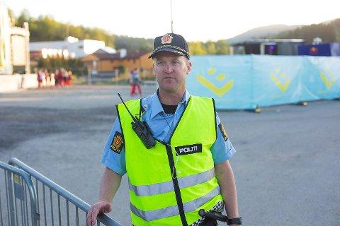 Politioverbetjent Endre Laukeland.