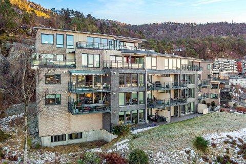 Leiligheten i Sameiet Rosenlund Terrasse i Krohnegården, ble solgt 600.000 kroner over takst.