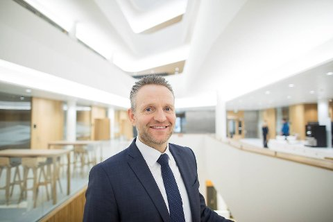 Konsernsjef Jan Erik Kjerpeseth Sparebanken Vest er fornøyd med konsernets utvikling i 2018.