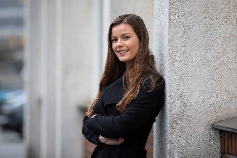 Erica Kronheim (24) har laget barnesidene i BA i ti år.