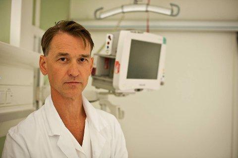 Overlege Steinar Skrede melder om at influensasesongen har startet.