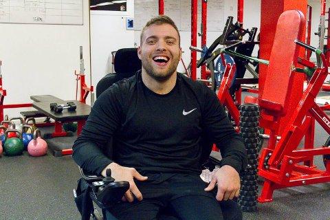 – Å bli Norges sterkeste rullestolbruker viser at hard trening lønner seg, sier Frode. Foto: Irene Bratteng Fossheim, Nordhordland.