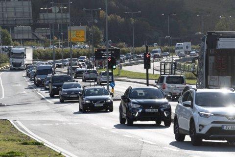 Det kan bli kø flere steder inn mot Bergen under feriehjemfarten.