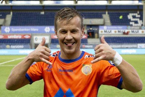 Artig kar! Ståle Stålinho Sæthre er en mann med mye selvironi og humør. Derav navneskiftet!