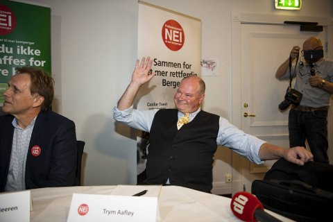 Sayonara! Trym Aafløy har vinket farvel til partiets egen diskusjonsgruppe.