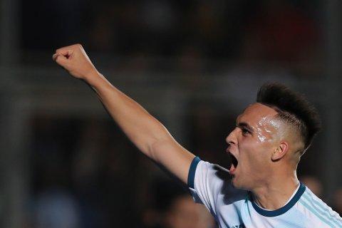Argentina og Lautaro Martinez kan lage problemer for Tyskland i kveld.