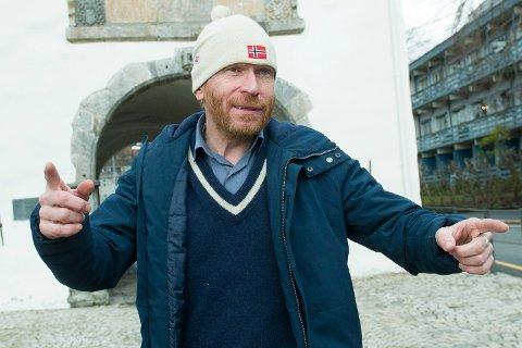 Steinulf Tungesvik er lansert og kan ta over lederskapet i Senterpartiet i Bergen.