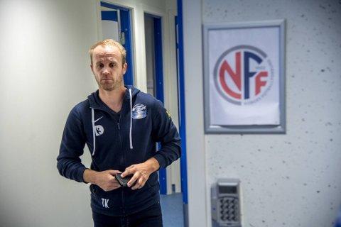 Tommy Knarvik var onsdag i møte med Øygarden-ledelsen om trenerjobben i klubben.