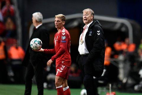 Åge Hareide og Danmark kommer antakeligvis til å vinn lett mot Gibraltar, men de kommer neppe til å slite seg ut mot fotballminiputten.