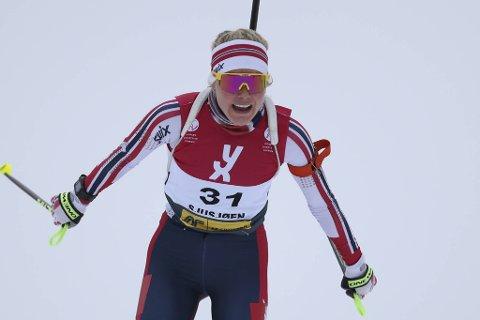 Vossingen Hilde Fenne imponerte lørdag.