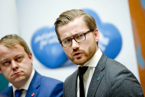 Statssekretær Sveinung Rotevatn-