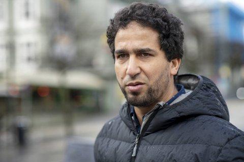 Styreleder Badreddine Maizi i Bergen moské.
