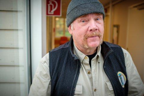 Kurt Oddekalv fikk seg en ufrivillig bomtur til Stord torsdag. Foto Terje Størksen