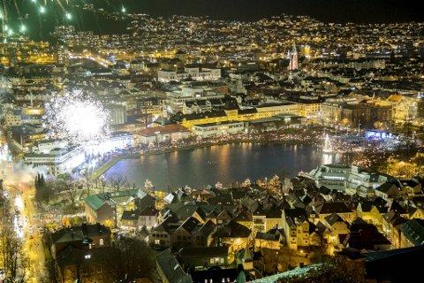 Kongen bys til lysfestival når byjubileet skal åpnes. Da håper kulturbyråden at bergenserne kjenner sin besøkelsestid.