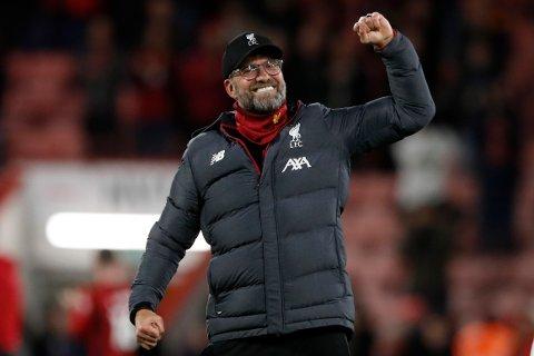 Liverpool har til gode å ryke ut av europacupene under Jürgen Klopp når det er vinn eller forsvinn. (AP Photo/Alastair Grant)
