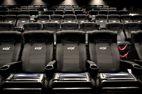 Onsdag er premieren på «Star Wars: The Rise of Skywalker». Den blir ikke vist i den nye 4DX-salen på Lagunen Kino. Supersalen har ikke hatt visninger siden åpningen 30. november. Foto: Skjalg Ekeland