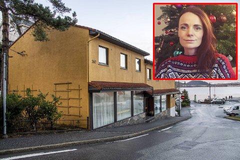 I disse lokalene i Salhus, der O.Nilsen hadde butikk i 80 år, ønsker Marlen Wollf å starte landhandel.