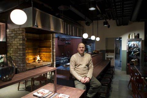 Christopher Haatuft er spent på hva slags mottakelse den nye restauranten ved Damsgårdssundet vil få blant alle naboene.