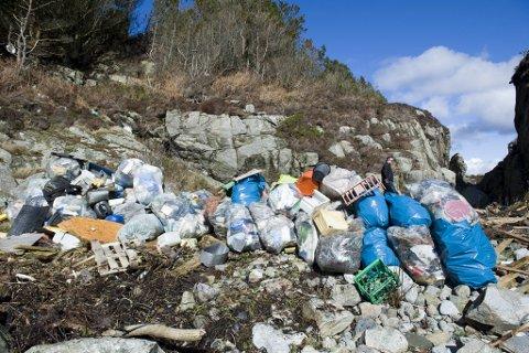 Bompengepartiets største budsjettsatsing er mer penger til å rydde plast.