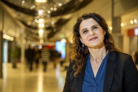 Senterdirektør Nina Schanche Nilsen ved Åsane storsenter er en senterlederne som kan smile bredt for ny rekord på BlackFfriday i år.