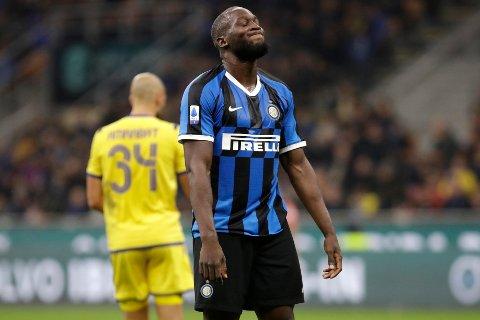 Romelu Lukaku og Inter Milan har slitt mot Roma. (AP Photo/Luca Bruno)