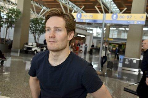 Sverre Lunde Pedersen sliter med smerter i hodet etter sykkelvelten i oppkjøringen til sesongen.