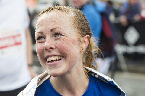 Eli Anne Dvergsdal er beste kvinnelige motbakkeløper i Bergen, men til helgens skal hun debutere for Gneist på 1500- og 3000-meter under innendørs-NM. (Arkivfoto: Anders Kjølen)