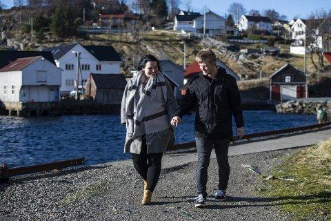 Marianne har flyttet fra Oslo til Runes leilighet i Øygarden, der den lille familien skal bo i hvert fall til sommeren.