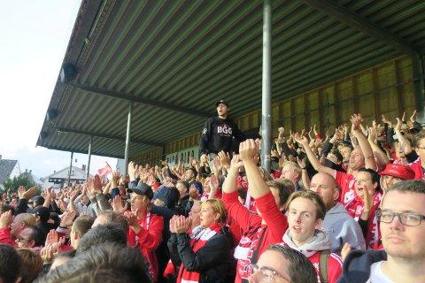 Haugesund-kampen ble årsbeste for Branns supportere. Hele 1472 tok turen og bidro til at Brann - offisielt - fikk flest bortesupportere totalt sett i 2018.