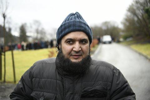 Mohammad Azeem, imam i Bergen moské.