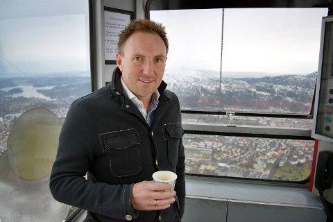 Christian Foss er hovedaksjonær i Ulrikbanen. Han fortviler over at utbyggingen nå er utsatt.