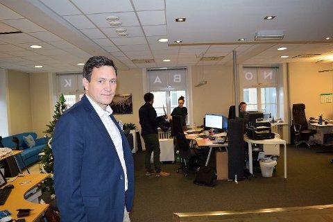 Bent Gjendem gir slipp på Monobank-navnet og skal fremover leder BRA Bank. FOTO: SVEIN TORE HAVRE