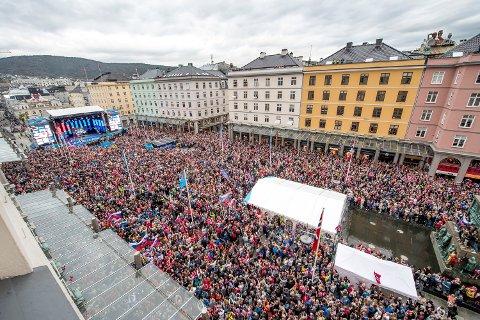 Sykkel-VM Bergen2017: En ellevill folkefest, med en bakrus bakrus - som bare blir verre og verre.