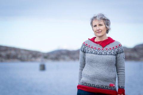 – Selv ser jeg ikke for meg å ha pensjonstilværet mitt her, om fjellet mitt blir et industriområde, sier Wenche Midthun. Hun er sterk motstander av vindkraftplanene i Dalsbotnfjellet.