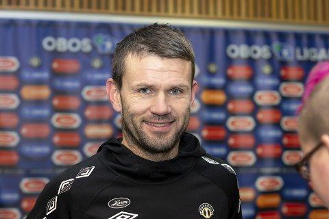 Eirik Bakke tok seriegull med Brann i 2007. Han håper på rødtrøyene i år også, men tror mest på Molde.