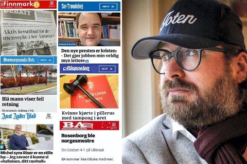 Ken André Ottesen har i mange år hatt et humoristisk blikk på norske lokalaviser. Det har resultert i 128.000 Instagram-følgere og en bok som har solgt 6.000 eksemplarer. I dag kommer bok nummer to.