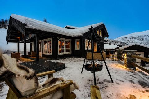 Denne hytten gikk for rekordsummen 10,1 millioner kroner da den ble solgt i Myrkdalen.