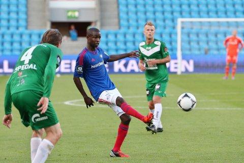 Den tidligere VIF-spilleren Pape M. Diamanka spiller nå i Numancia som kjemper for å overleve i Segunda Division.  Foto: Håkon Mosvold Larsen / NTB scanpix