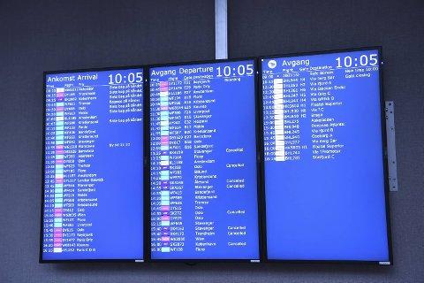 Pilotstreiken får store konsekvenser for de reisende.
