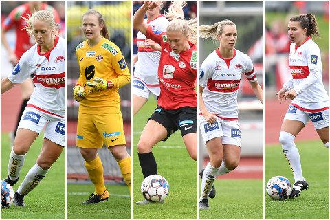 Amalie Eikeland, Oda Bogstad, Emilie Nautnes, Stine Hovland og Cecilie Kvamme er alle klare for VM.