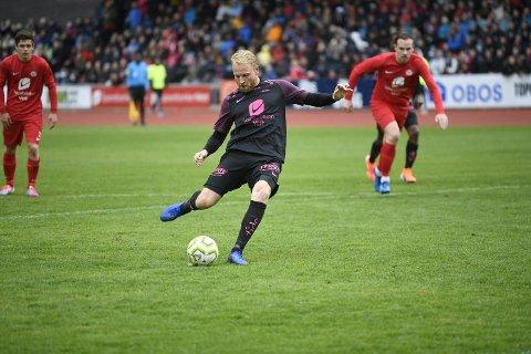 Henrik Kjelsrud Johansen scoret to mål, deriblant ett på straffespark.
